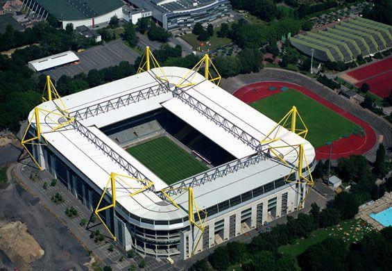 Signal Induna Park Borussia Dortmund Dortmund Borussia Dortmund Football Stadiums