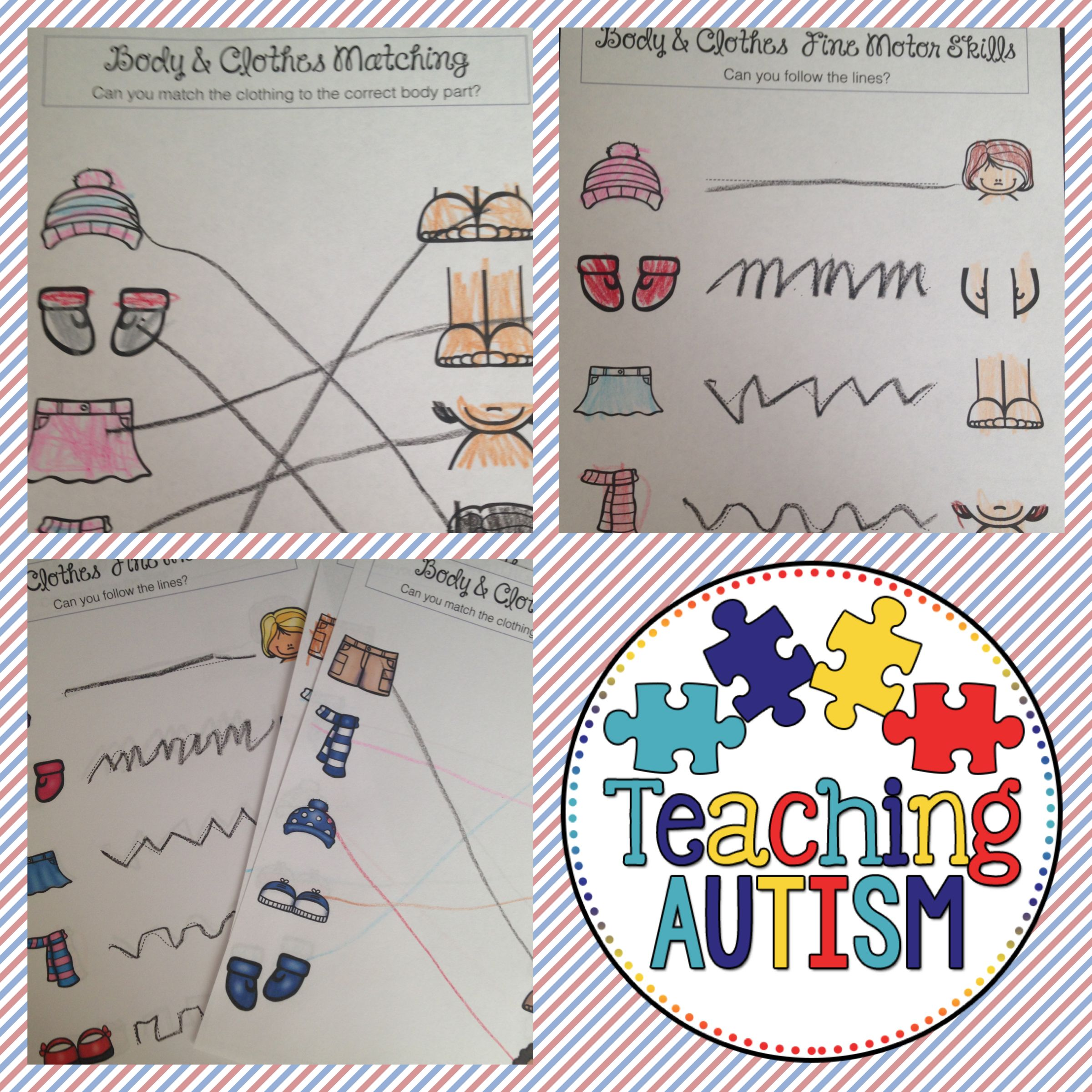 What Goes Together Activities For Special Education