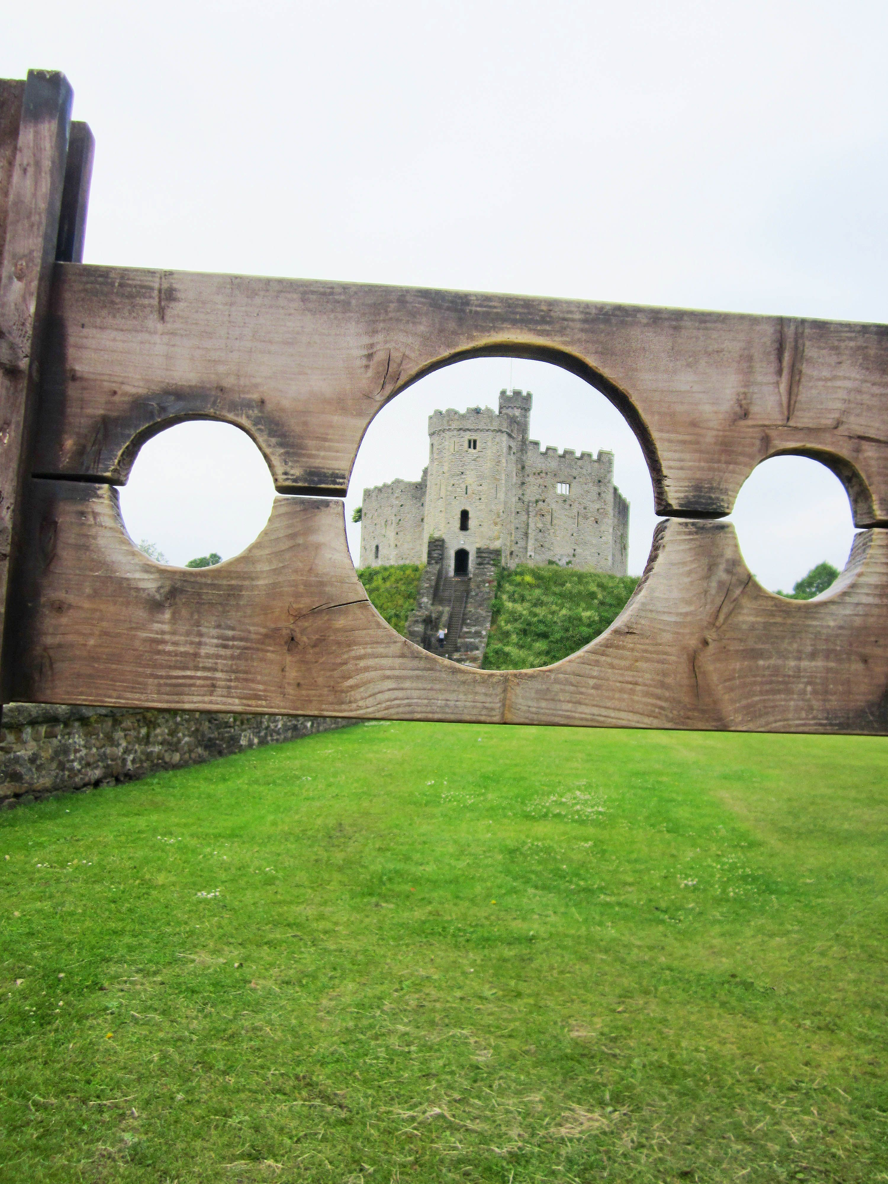 The Norman keep through our stocks