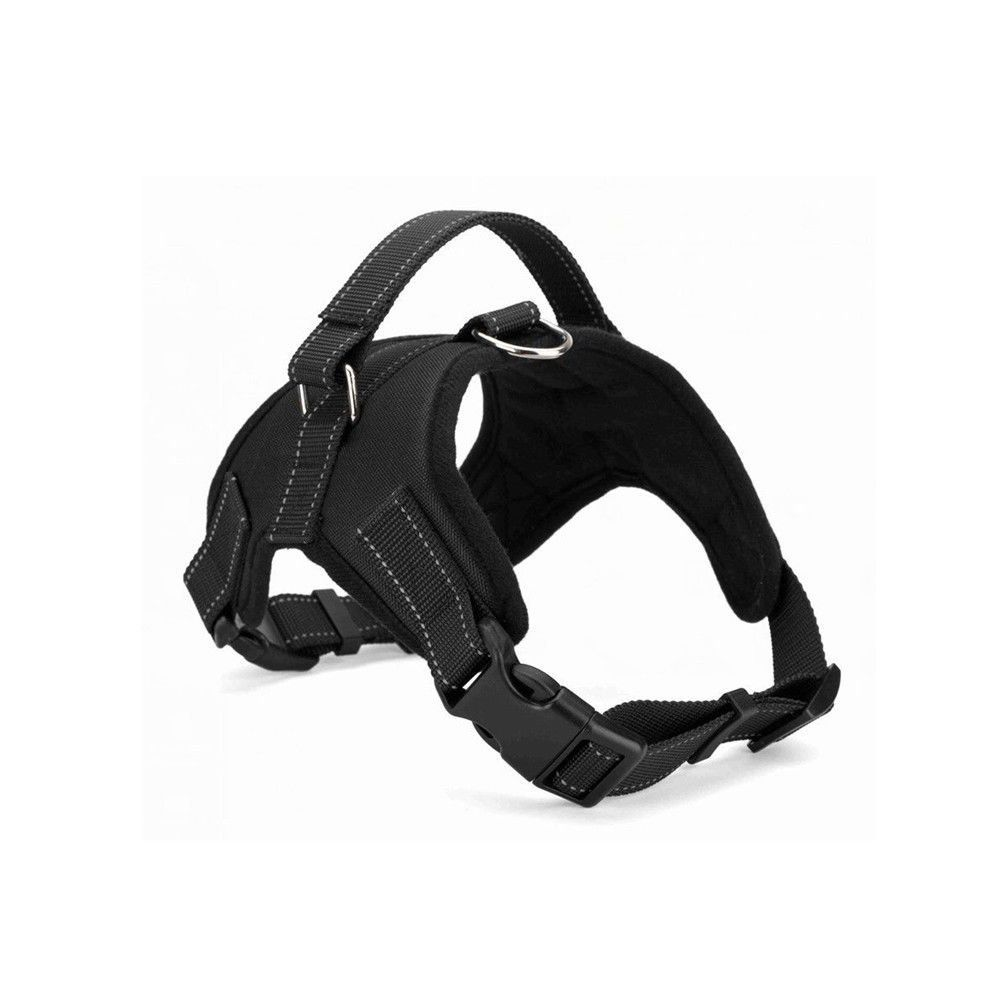 Dog harness with handle on top adjustable no pull dog