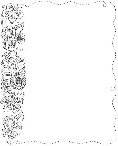 Pin By Anna On Marcs I Vores Page Borders Design Fall Coloring Pages Clip Art Borders