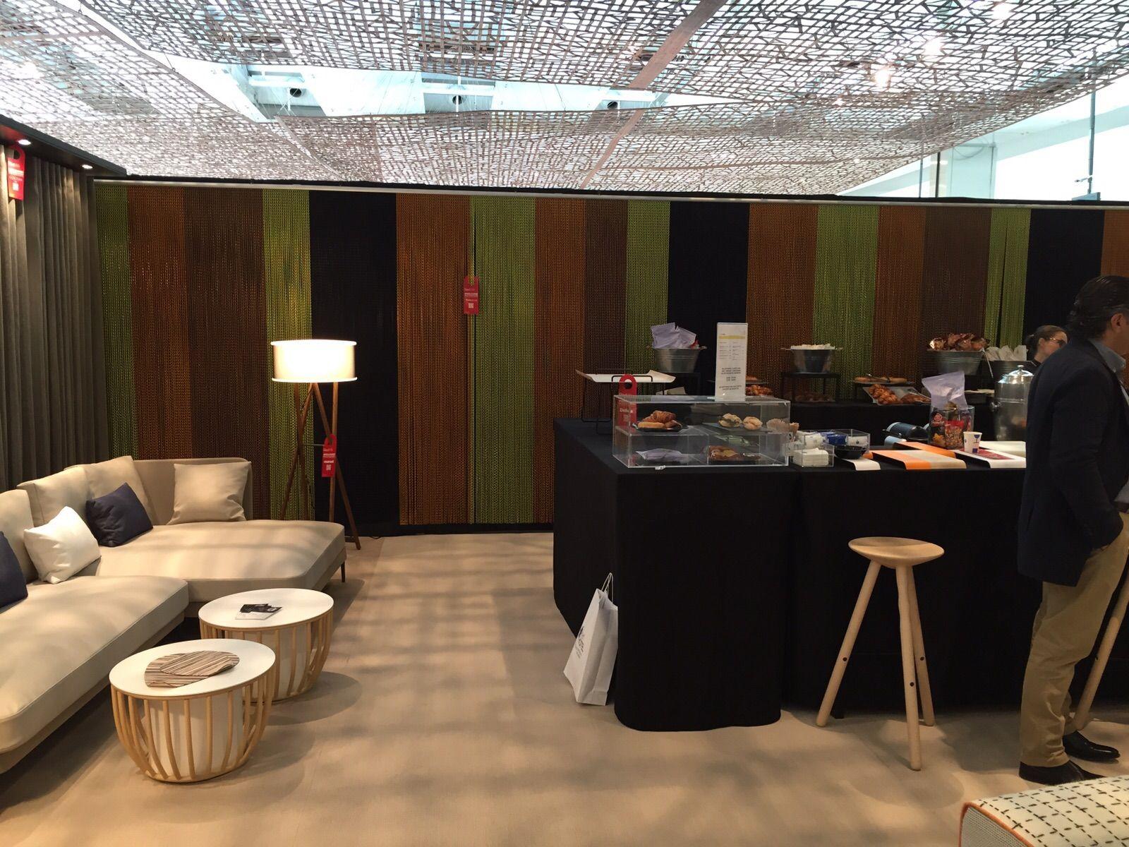 Lounge Area At Interihotel2015 Equipped By Kriskadecor Curtains  # Muebles Gamma San Juan