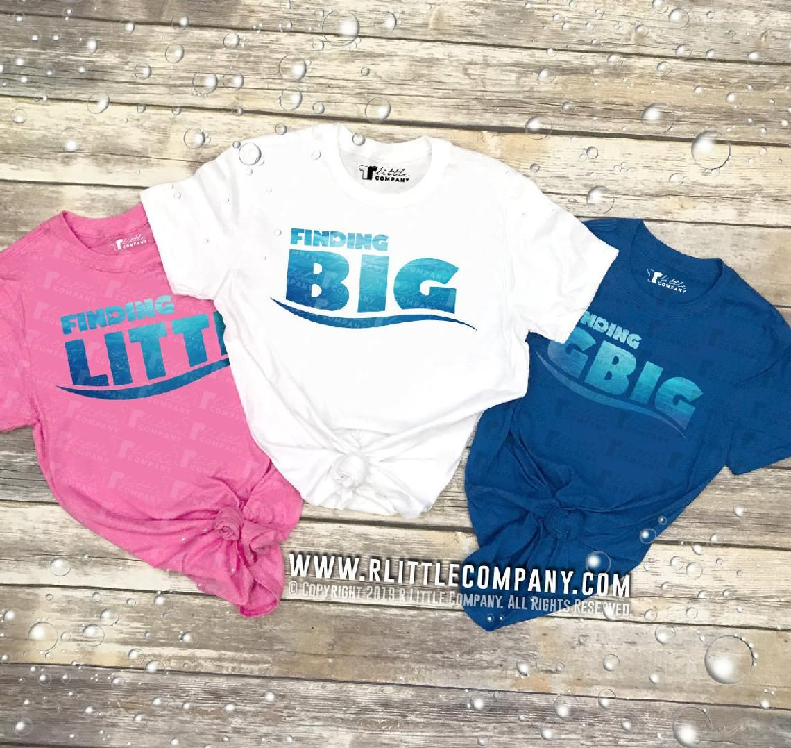 Finding Big / Little / Gbig Family Unisex Tees S-2XL // Big Little Reveal // Big Little Gift // Sorority Shirt #biglittlereveal