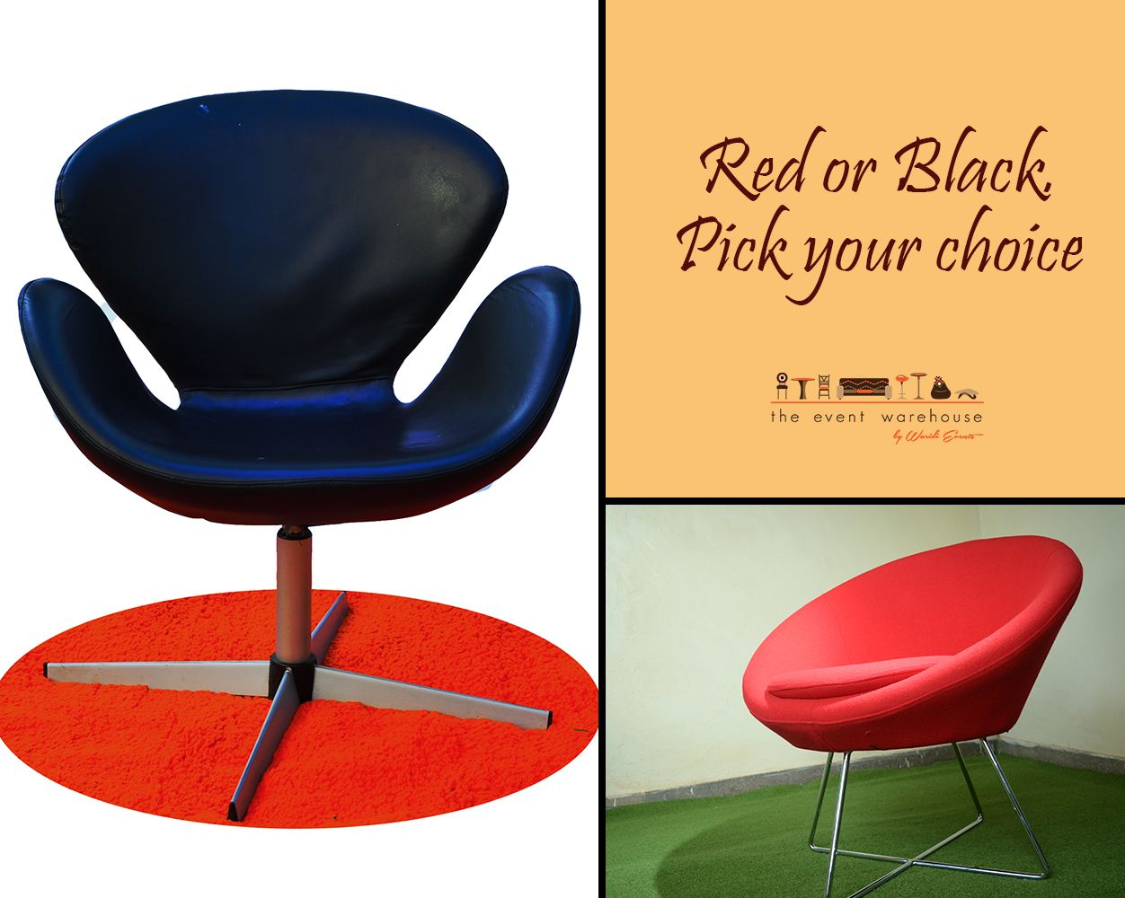 Red or Black. Pick your choice. http://chk.to/hqC1wzE