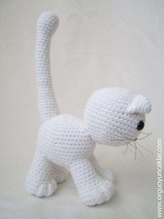 Amigurumi Cat Pattern | illes handarbeit | Pinterest | Patrones ...