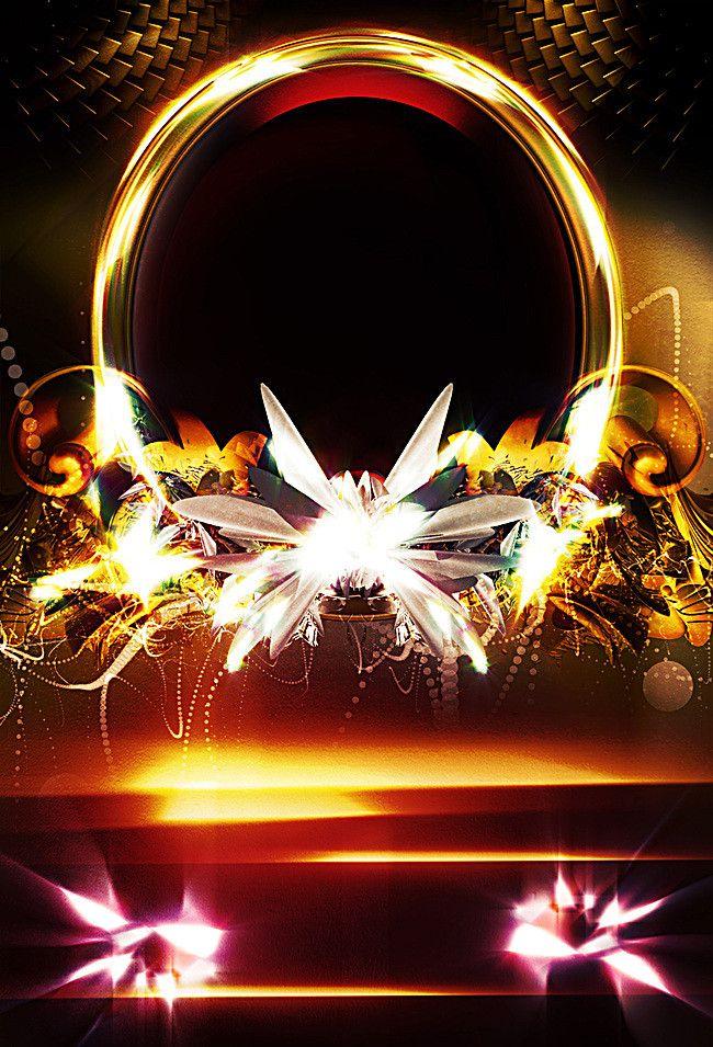 Dynamic Cool Party Poster Seni, Latar belakang, Bingkai