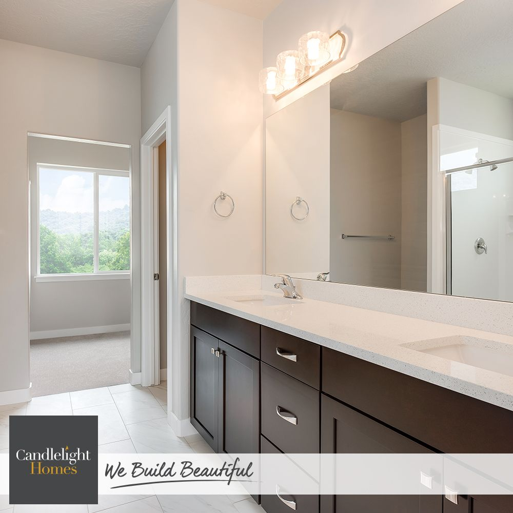 Start your day with a clean slate. Bathroom design by Candlelight ...