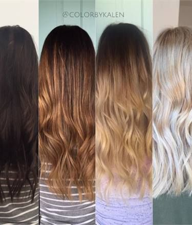 How To Formula And Steps To Safely Go From Brunette To Blonde Brunette To Blonde Blonde Hair Color Dark To Light Hair
