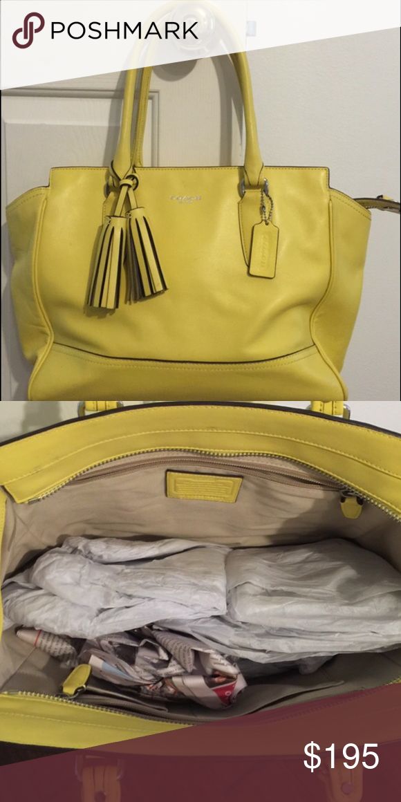 Coach Madison bag Shoulder bag- clean and great condition inside out. Does not smell comes from pet and smoke free home Coach Bags Shoulder Bags