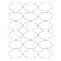Free Avery Templates Oval Labels 18 Per Sheet