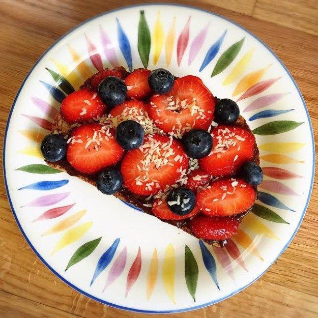 Berry Dessert Toast