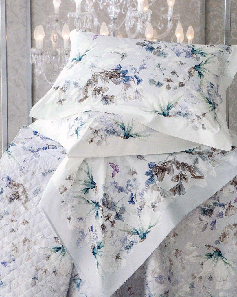 Blumarine Biancheria Da Letto.Completo Lenzuola Magnolia Di Blumarine Sheet Set For Double Bed