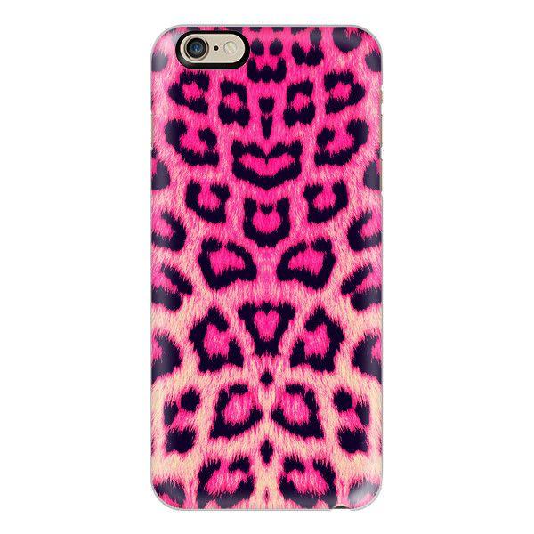Neon Hot Pink Cheetah Animal Print Pattern - iPhone 6s Case 7797605cb5d7