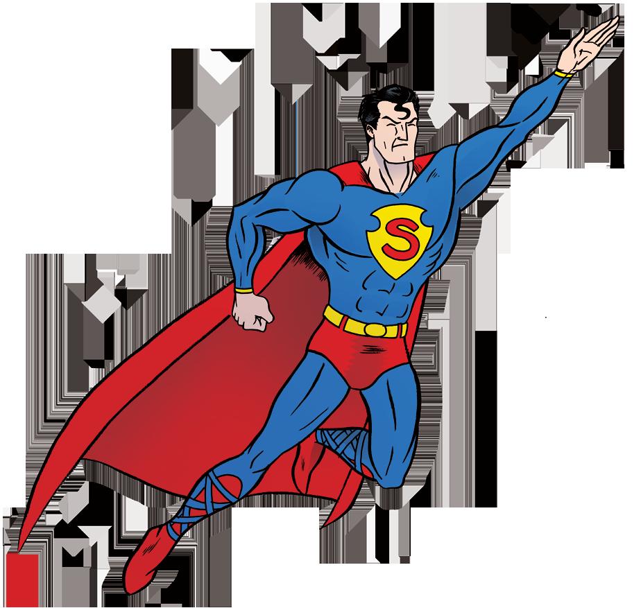 Картинки с изображением супермена