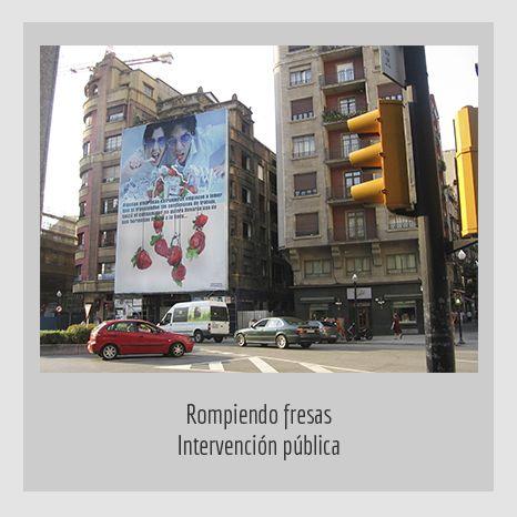 ROMPIENDO-FRESAS. YENY CASANUEVA Y ALEJANDRO GONZÁLEZ. PROYECTO PROCESUAL ART