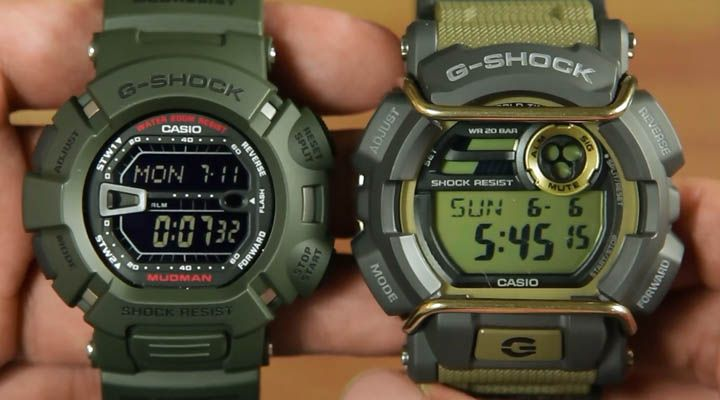 1051a40a0af Head to head   Casio G-shock G-9000-3 dan G-shock GD-400-9