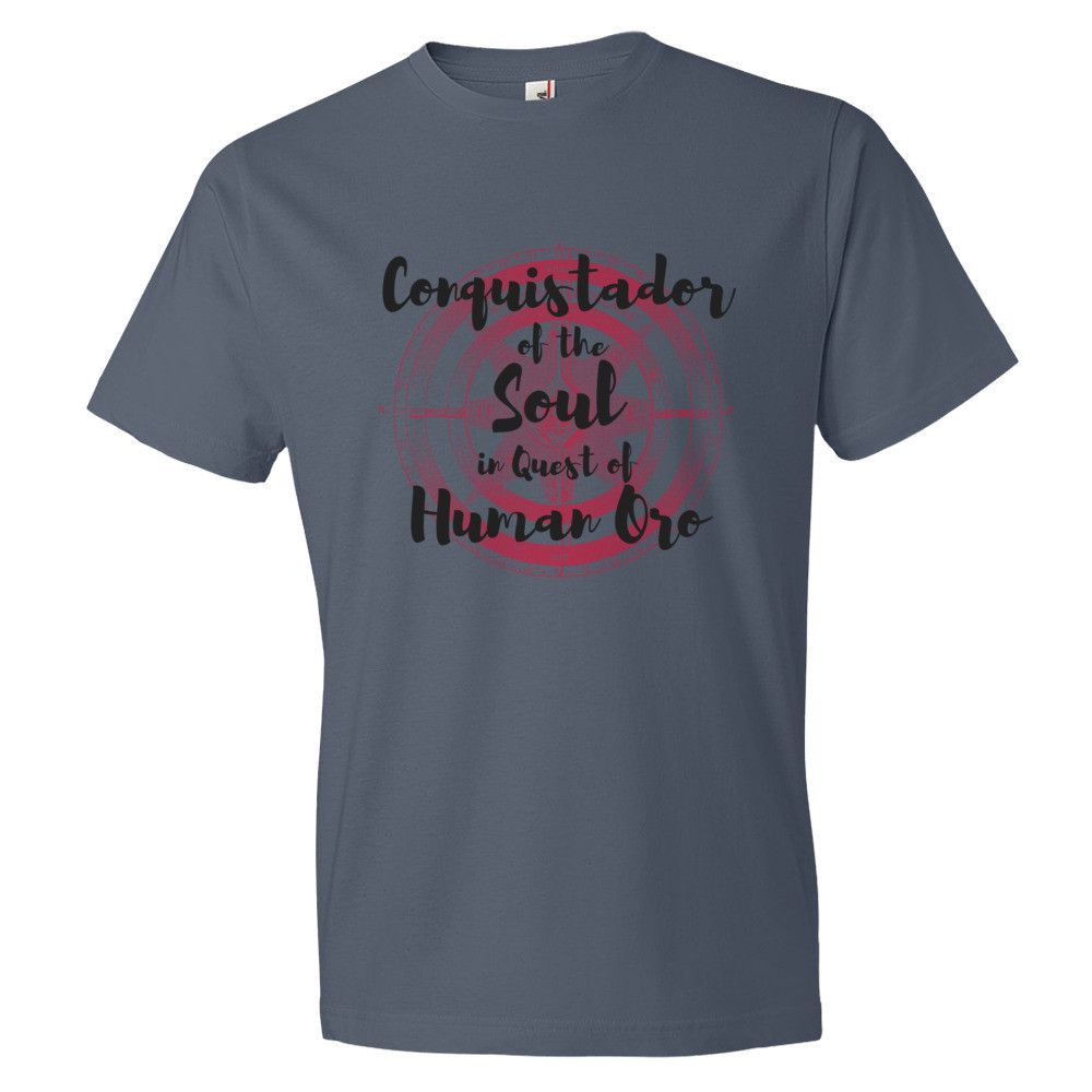 Red Compass, Conquistador of the Soul- Short sleeve t-shirt