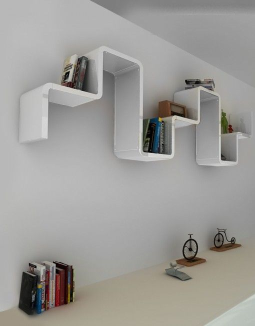 Display your personal items with a modular shelf that is as stylish as you.