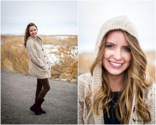 Apricot Hooded Long Sleeve Cardigan Sweater Coat - Sheinside.com #SheInside