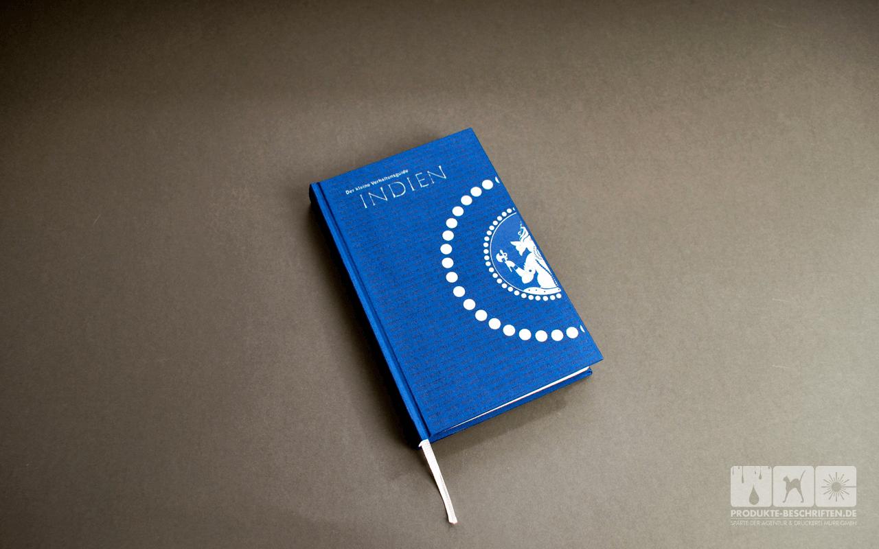 Weiß drucken - Buchcover