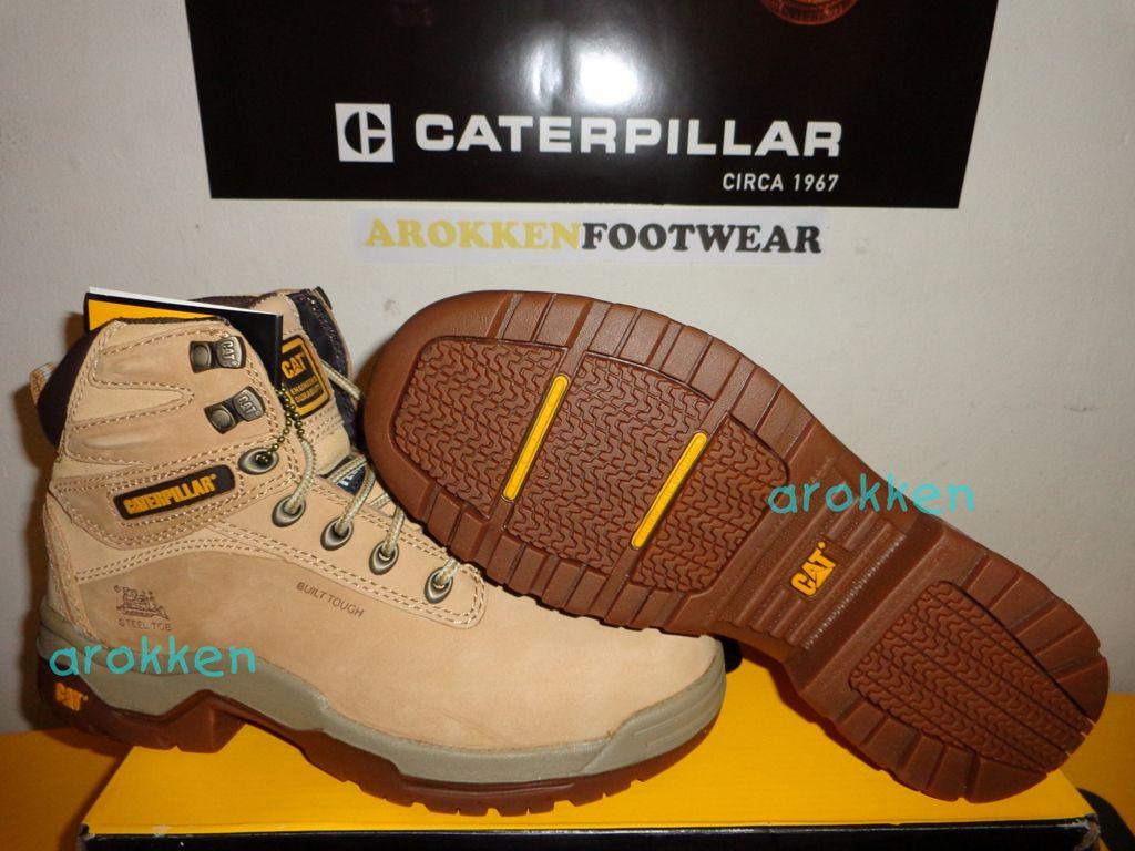 Caterpillar Tectonic St Honey Authentic Caterpillar Footwear