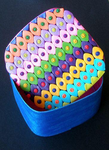 Square colorful Box