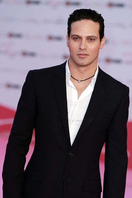 Actor Gabriel Garko, who was officially declared the most beautiful Italians...