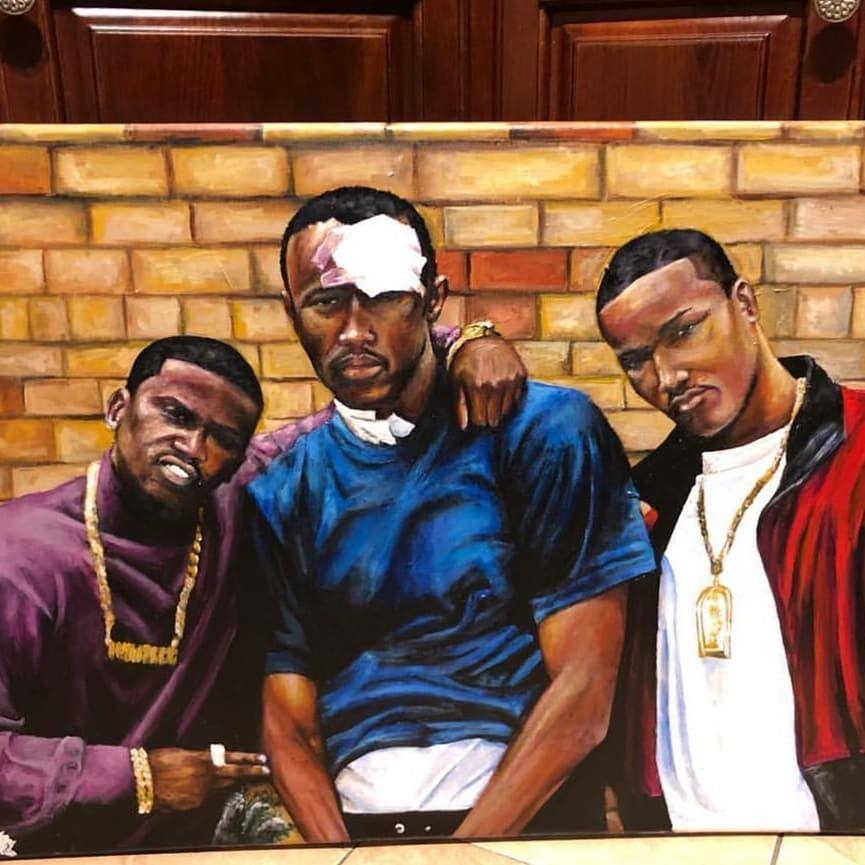 Paid In Full Harlem World Black Girl Art Afrocentric Art Hip Hop Art