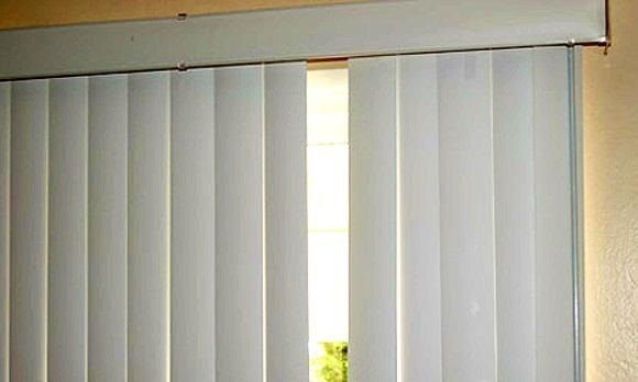 How To Fix Your Broken Vertical Blind Slats Macgyver Style Sliding Door Blinds Curtains With Blinds Living Room Blinds
