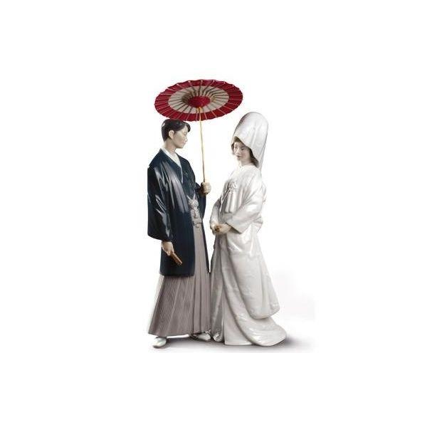 Lladro 01008787 JAPANESE WEDDING Porcelain USD 54590