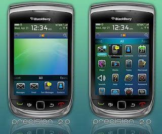 Free Blackberry Themes Torch 9800 – Precision 2.0