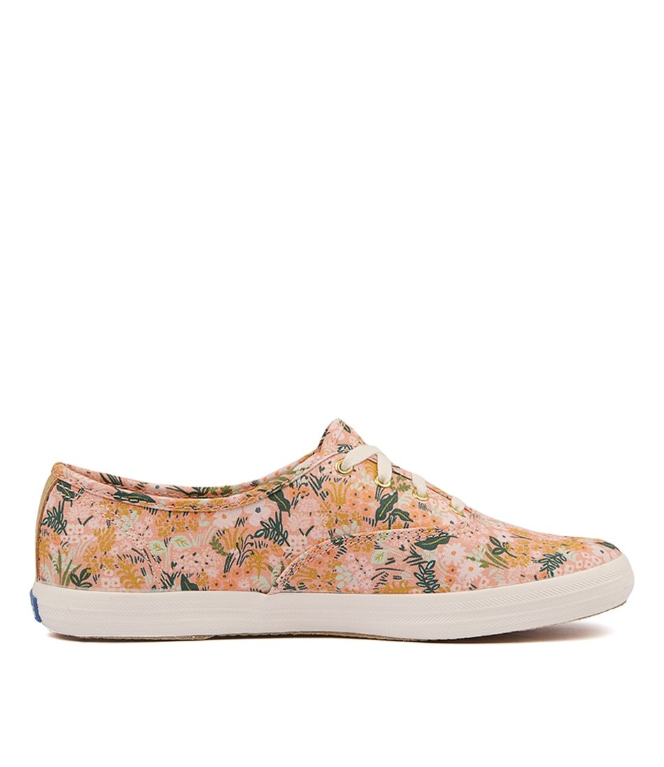 749c56b3395 CHAMPION RIFLE PAPER MEADOW PINK CANVAS by KEDS - at Styletread