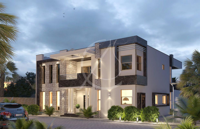 Modern Granite House Design Basra In 2020 Residential