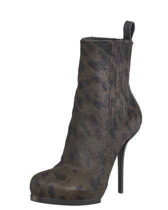 Aymeline Lift-Heel Chelsea Boot, Calf Hair by Alexander Wang at Bergdorf Goodman.