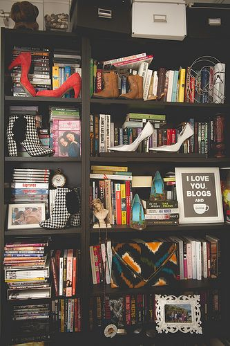 Organized chaos #bookshelf