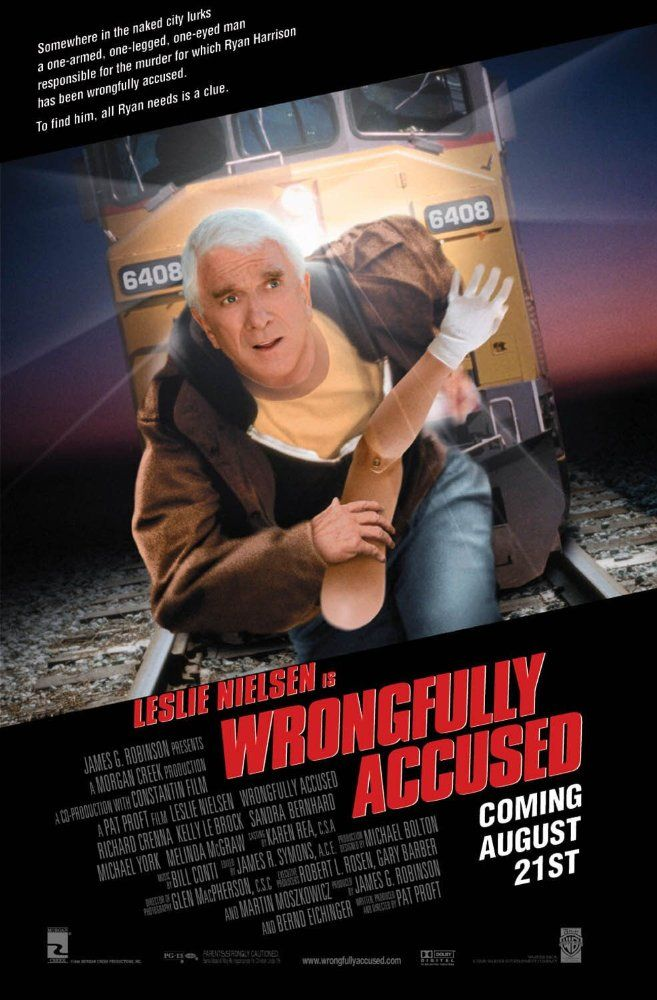 Poster Parodies Wrongfully accused, Comedy films, It