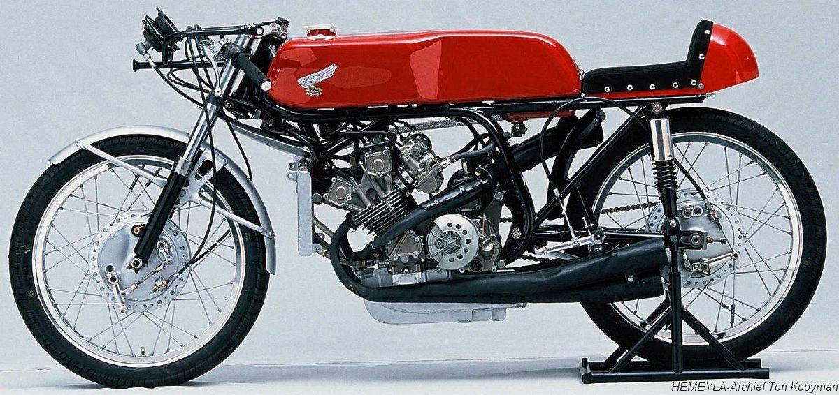 Rc149 125cc 5 Cylinder Racemotoren Motorfietsen Oldtimers