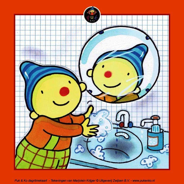 Handen Wassen Dagritmekaarten Puk Amp Ko Pinterest