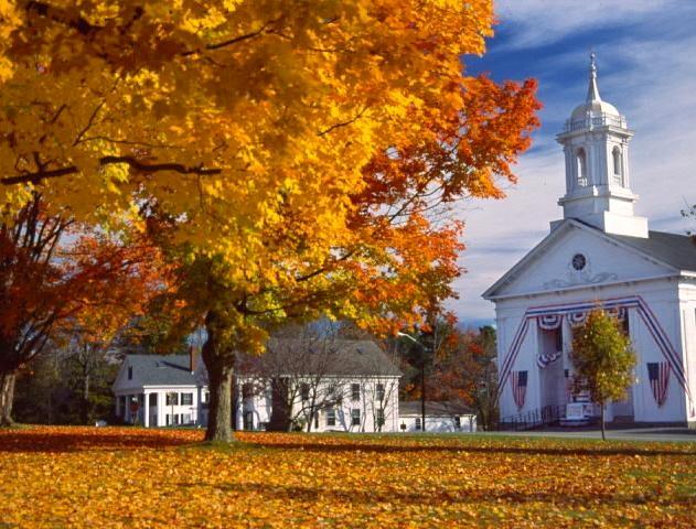 Prettiest Fall Foliage Villages in Massachusetts – New england fall