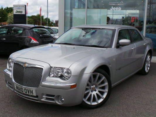 Used 2010 10 reg bright silver chrysler 300c 3 0 v6 crd for Chrysler 300c crd