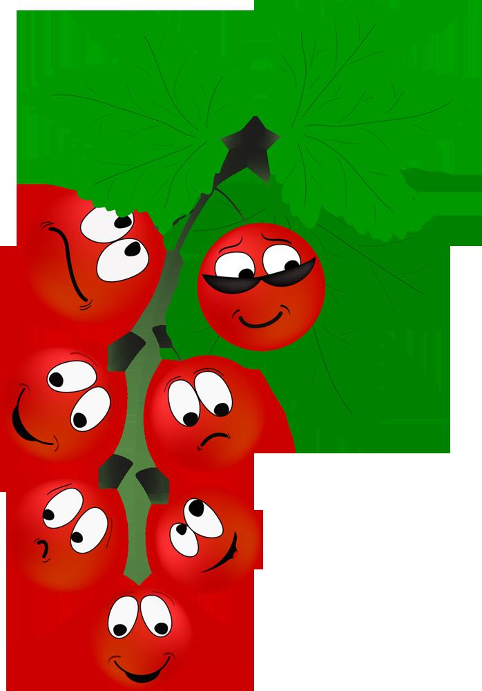 Картинка, рисунки веселые фрукты ягоды овощи