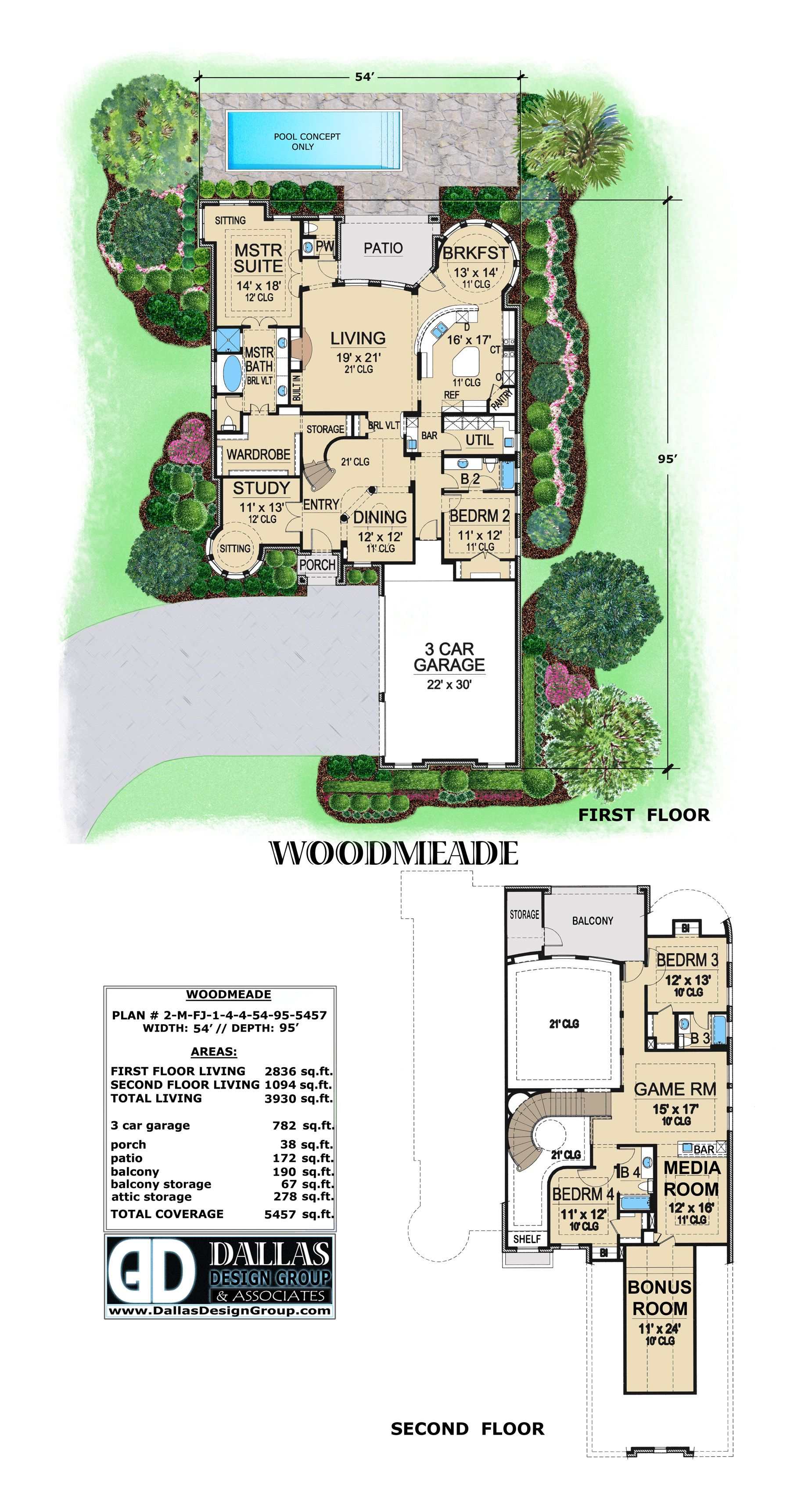 Woodmeade House Plan From Dallas Design Group Available At Dallasdesigngroup Com Custom Home Plans Design Stock Plans
