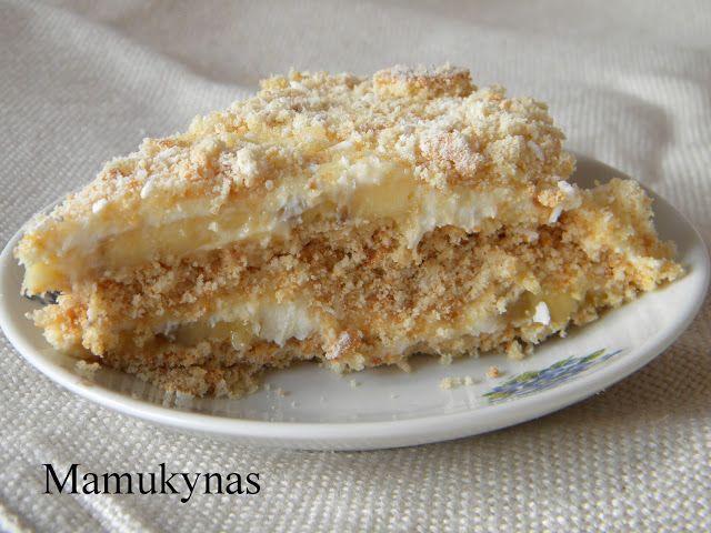 Mamukynas: Nekeptas tortas