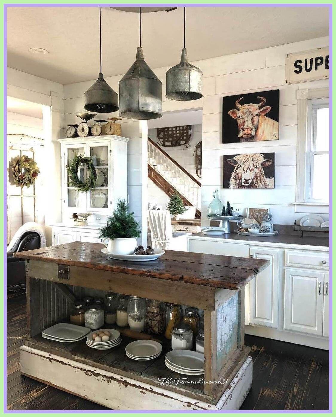 126 reference of modern farmhouse kitchen lighting ideas