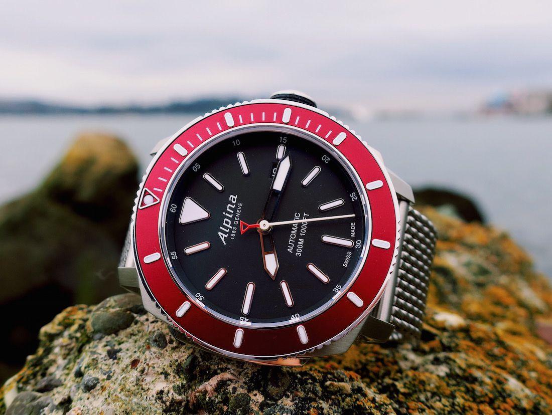 Full Review Original Photos Of The Alpina Seastrong Diver - Alpina watch price