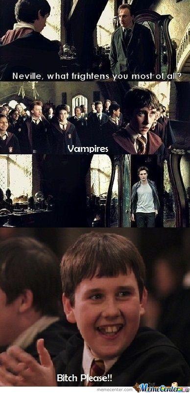 Kid Neville Is Da Man Da Man Harry Potter More Mischief Managed