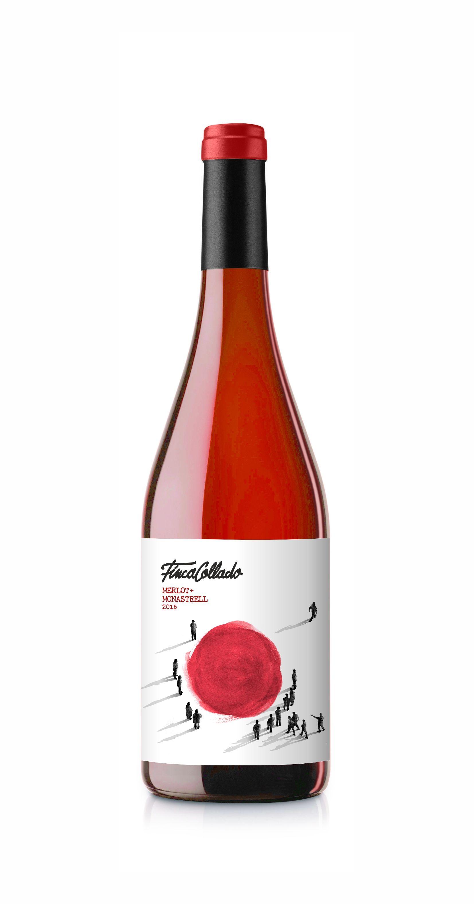 Etiqueta Vino Etiquetas De Vino Vino Rosado Vino De Espana