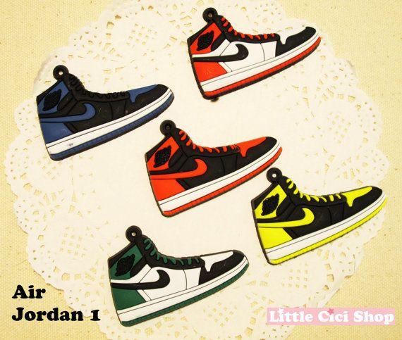 1 pc Air Jordan 1 - 6 Colors available - Cute Mini Shoe Flatback Bead Craft Art DIY Cell Phone Case Cabochon Deco on Etsy, £2.85
