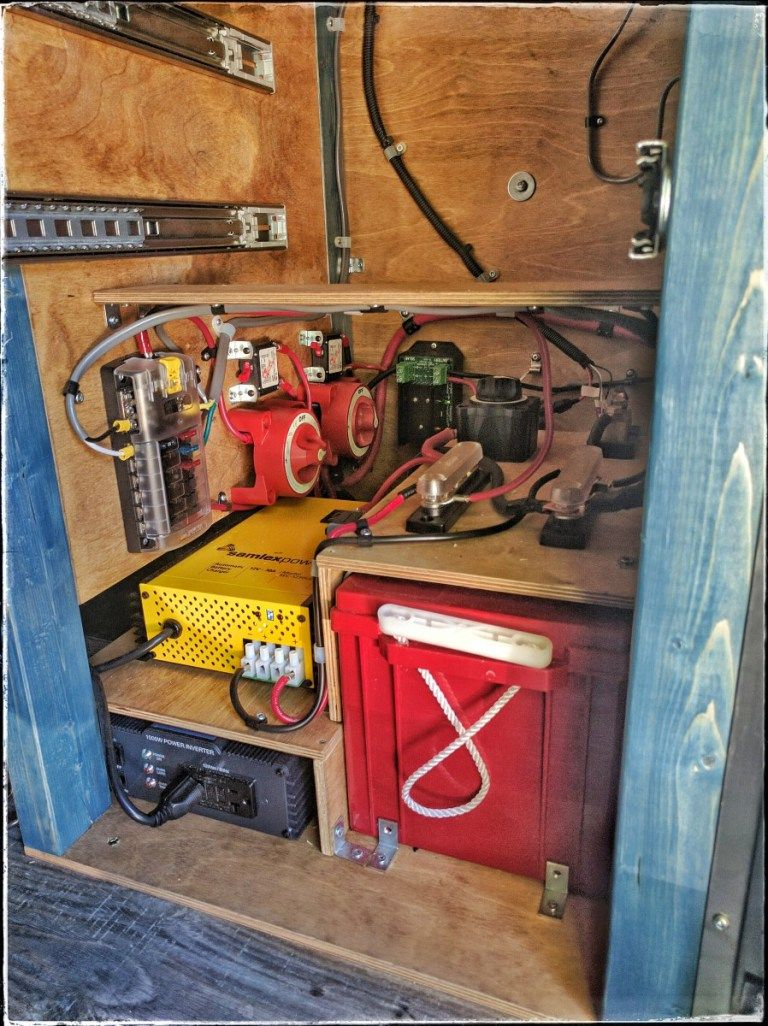complete guide on designing and installing your own diy electrical system in a camper van conversion free wiring diagram and tutorial inside  [ 768 x 1026 Pixel ]