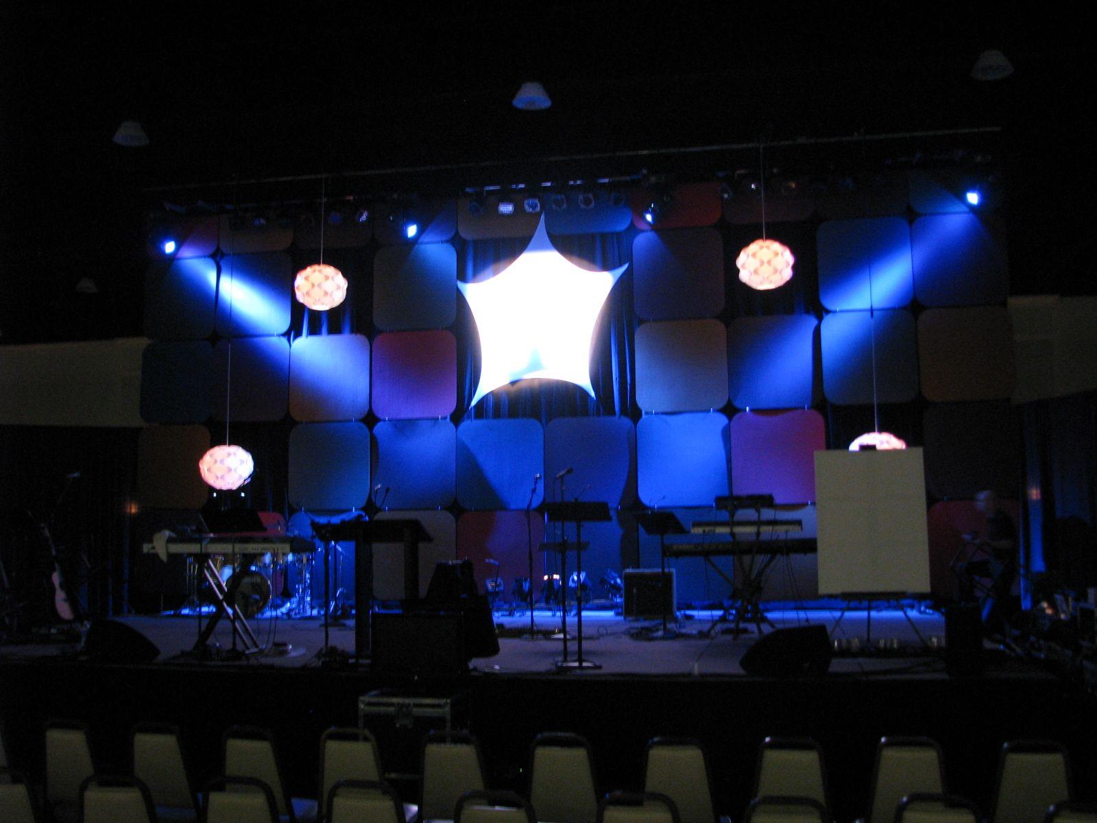 Modern | Church Stage Design Ideas | church backdrops | Pinterest ...